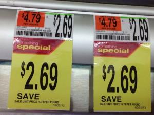 bargain price